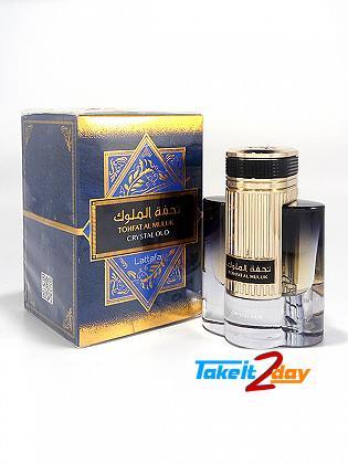 Lattafa Tohfat Al Muluk Crystal Oud Perfume For Men And Woman 100 ML EDP