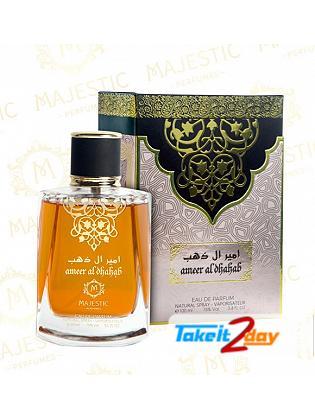 Majestic Perfume Ammer Al Dahab Perfume For Men And Women 100 ML EDP
