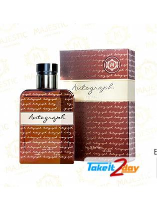 Majestic Perfume Autograph Pour Homme Perfume For Men 100 ML EDP