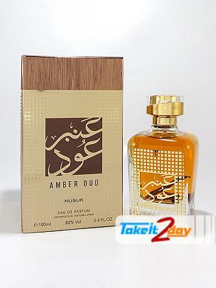 Nusuk Amber Oud Perfume For Men And Women 100 ML EDP