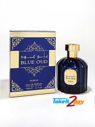Nusuk Blue Oud Perfume For Men And Women 100 ML EDP