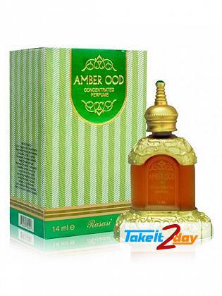 Rasasi Amber Oudh Perfume Oil For Men And Women 14 ML