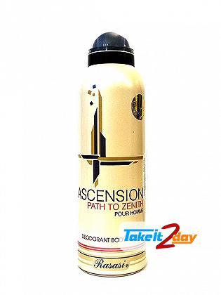 Rasasi Ascension Path To Zenith Deodorant Body Spray For Men 200 ML