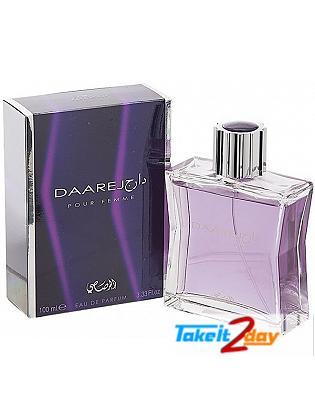 Rasasi Daarej Pour Femme  Perfume For Women 100 ML EDP