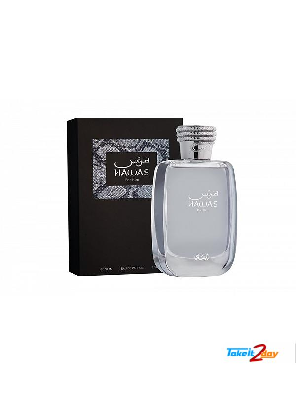 aca6a0282e Rasasi Hawas Perfume For Men 100 ML EDP. Click Image for Gallery