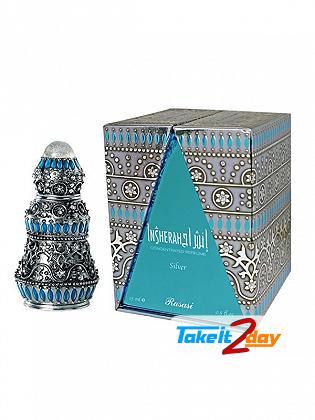 Rasasi Insherah Silver Perfume For Men And Woman 15 ML EDP