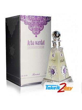 Rasasi Arba Wardat Perfume For Men & Women 70 ML EDP