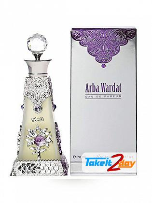 Rasasi Arba Wardat Perfume For Men And Women 70 ML EDP