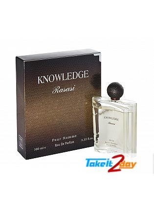 Rasasi Knowledge Eau De Perfume For Men 100 ML EDP