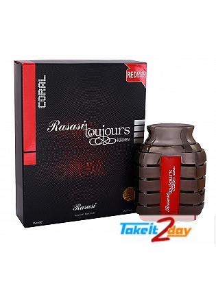 Rasasi Toujours Coral Eau De Perfume For Men 75 ML EDP