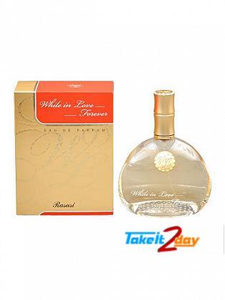Rasasi While In Love Forever Perfume For Women 80 ML EDP