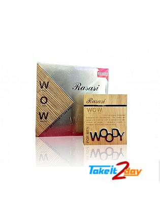 Rasasi Woody WOW Eau De Perfume For Men 60 ML EDP