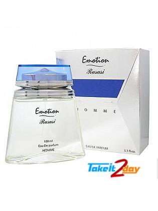 Rasasi Emotion Masculine Perfume For Men 100 ML EDP