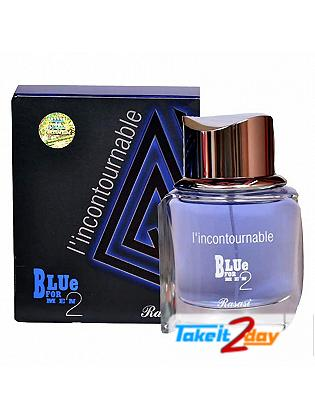 Rasasi L'Incontournable Blue 2 Perfume For Men 75 ML EDT