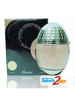 Rasasi Hemisphere Latitude Perfume For Women 100 ML EDP