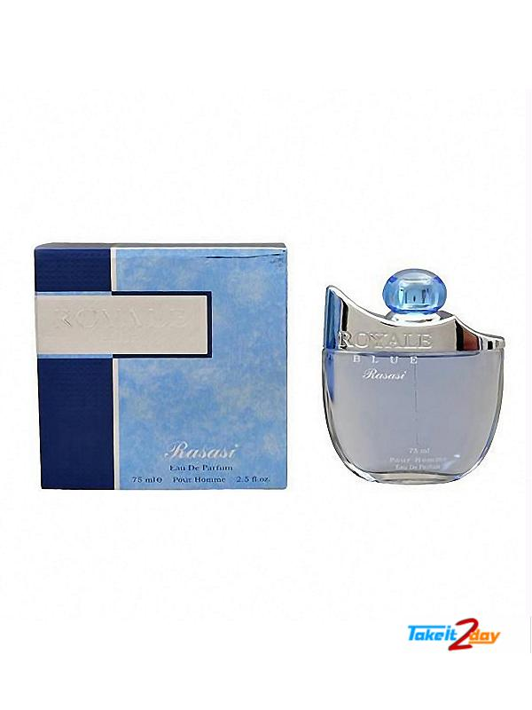 Rasasi Royal Blue Perfume For Men 75 Ml Edp