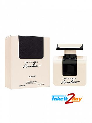Rave Black Suede L Assoluto For Men 100 ML EDP By Lattafa Perfumes