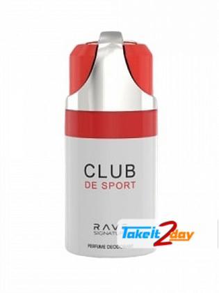 Rave Signature Club De Sport Perfume Deodorant Body Spray For Man 250 ML