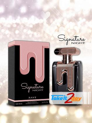 Rave Rave Signature Night Perfume For Men 100 ML EDP By Lattafa Perfumes