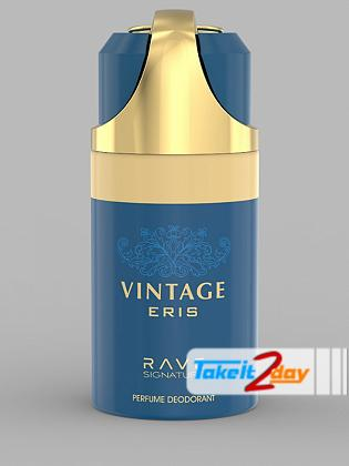 Rave Signature Vintage Eris Perfume Deodorant Body Spray For Man 250 ML