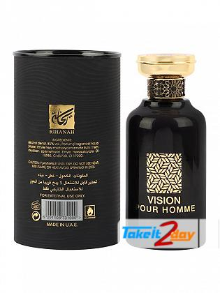 Rihanah Vision Pour Homme Perfume For Women 100 ML EDP