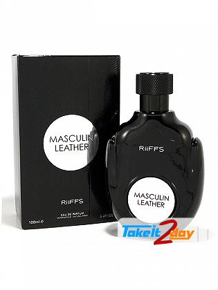 Riiffs Masculin Leather For Men Perfume For Men 100 ML EDP