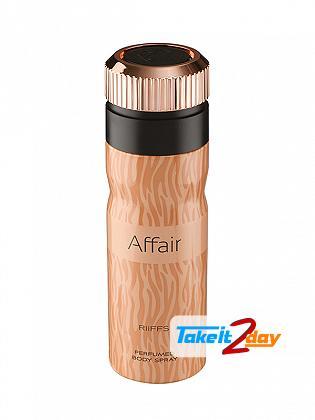 Riiffs Affair Perfume Deodorant Spray For Women 200 ML