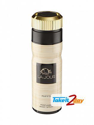 Riiffs La Jour Perfume Deodorant Spray For Women 200 ML