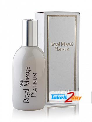 Royal Mirage Platinum For Men 120 ML EDC