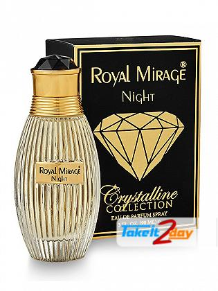 Royal Mirage Night Crystalline Collection For Men And Women 90 ML EDP