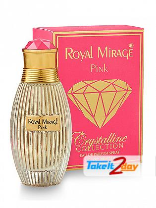 Royal Mirage Pink Crystalline Collection For Men And Women 90 ML EDP