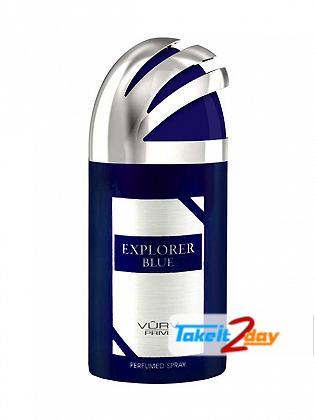 Vurv Explorer Blue Deodorant Body Spray For Men 250 ML By Lattafa Perfumes
