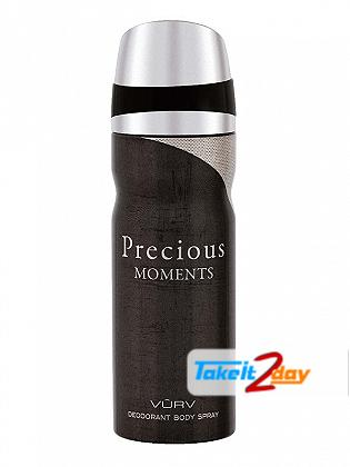 Vurv Precious Moments Deodorant Body Spray For Men 200 ML By Lattafa Perfumes
