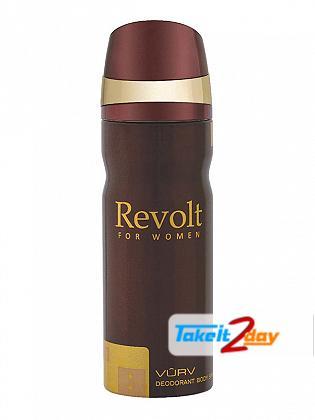 Vurv Revolt Deodorant Body Spray For Women 200 ML By Lattafa Perfumes