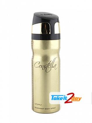 Vurv Constella Deodorant Body Spray For Women 200 ML By Lattafa Perfumes