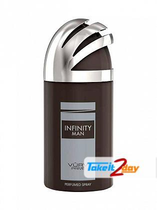 Vurv Infinity Man Deodorant Body Spray For Men 250 ML By Lattafa Perfumes