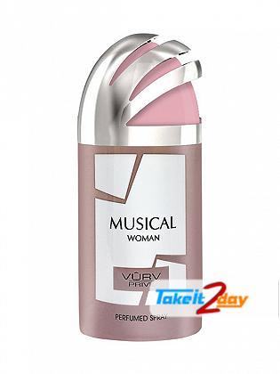 Vurv Musical Deodorant Body Spray For Women 250 ML By Lattafa Perfumes