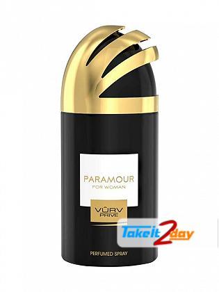 Vurv Paramour Deodorant Body Spray For Women 250 ML By Lattafa Perfumes
