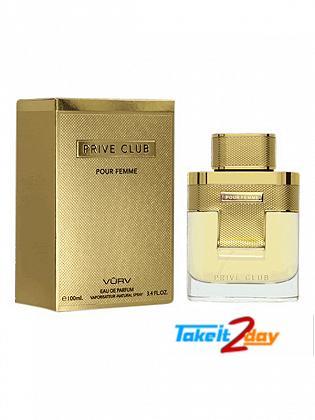 Vurv Prive Club Perfume For Women 100 ML EDP