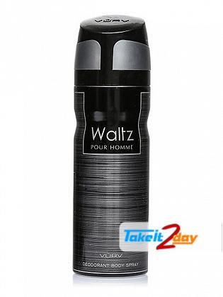 Vurv Waltz Homme Deodorant Body Spray For Men 200 ML