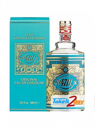 Maurer & Wirtz 4711 Original Eau De Cologne Perfume For Men And Women 300 ML EDC