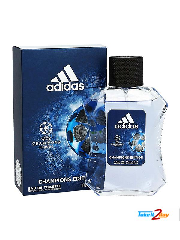 digestión el plastico llenar  Adidas Champions Edition Perfume For Men 100 ML EDT