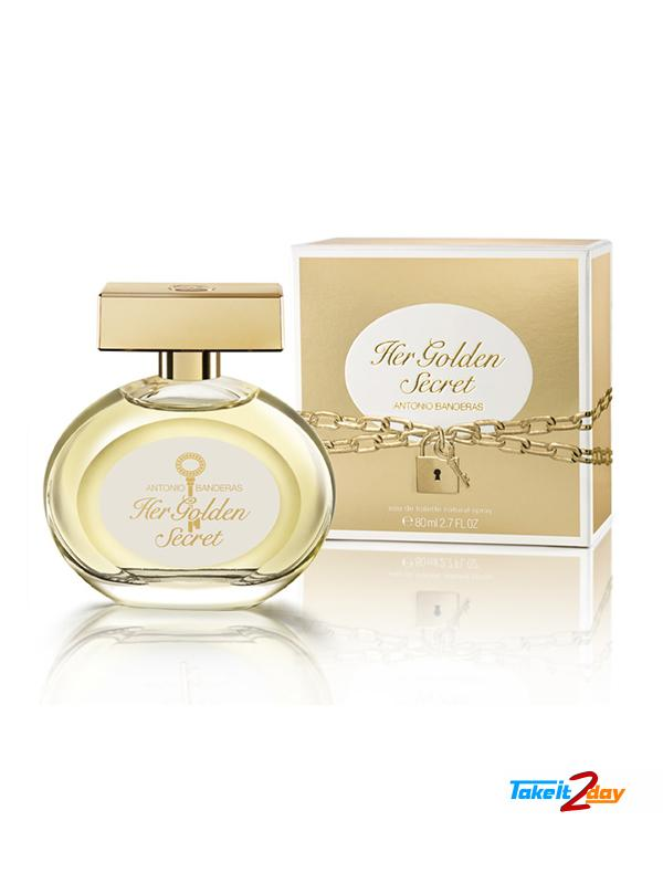 d4c1269f9 Antonio Banderas Her Golden Secret Perfume For Woman 80 ML EDT. Click Image  for Gallery