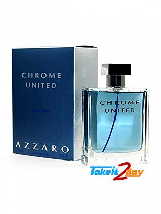 Azzaro Chrome United Perfume For Men 50 ML EDT
