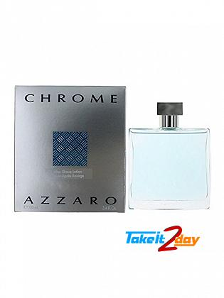 Azzaro Chrome After Shave Lotion For Men 100 ML