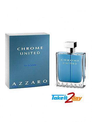 Azzaro Chrome United Perfume For Men 100 ML EDT