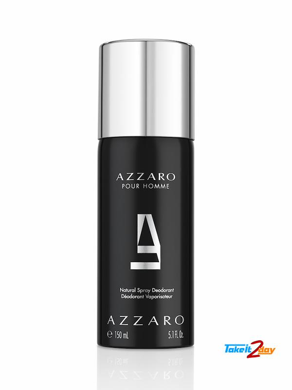 Azzaro Pour Homme Deodorant For Men 150 Ml