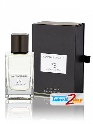 Banana Republic Vintage Green 78 Perfume For Man And Women 75 ML EDP
