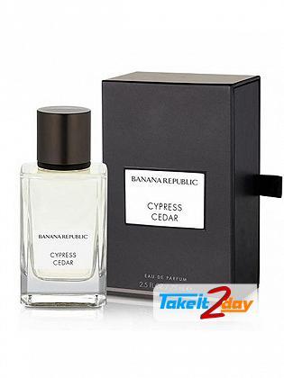 Banana Republic Cypress Cedar Perfume For Man And Women 75 ML EDP