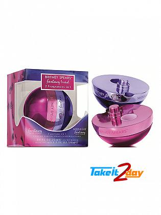 Britney Spears Fantasy Twist Fantasy And Midnight Fantasy Perfume For Woman 50 ML EDP Each